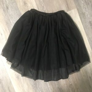 FAB KIDS   high low tulle skirt